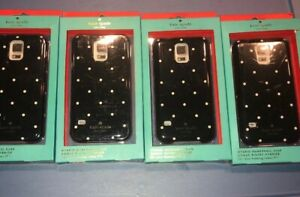 Lot-Of-4pc-Kate-Spade-New-York-Hardshell-Larabee-Dot-Case-For-Samsung-Galaxy-S5