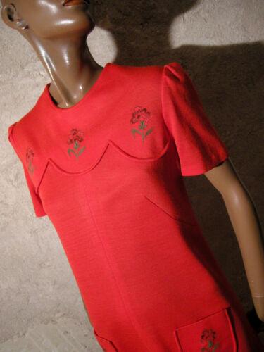 Jersey True Dress Chic Robe 1960 Vtg Vintage Ann EBqPqwa