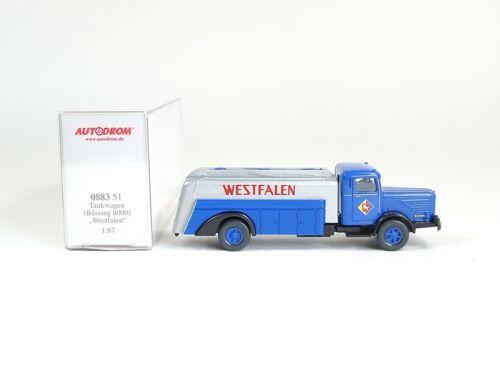 """OVP neu Spiel Wiking 0883 51 Büssing 8000 Tankwagen /""""Westfalen/"""" Idee"""