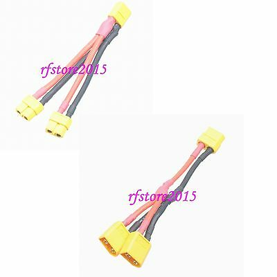 XT60 Male to 4x XT60 Female Parallel Harness cable for DJI Phantom