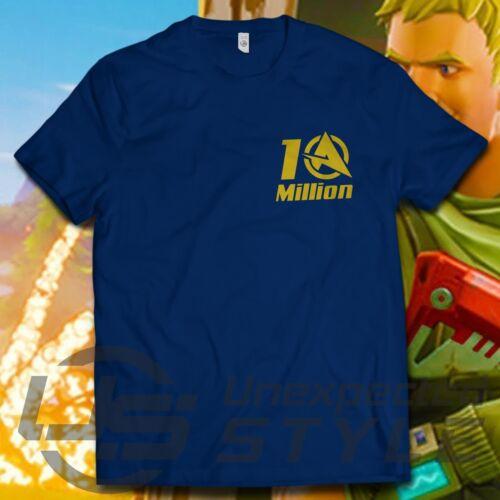 Ali-A 10 millions T-shirt COD Call Of Duty Gold YouTube youtuber Ali un tshirt