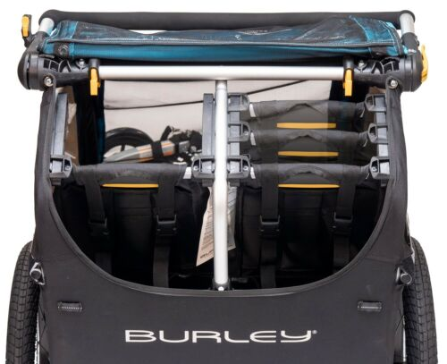 Burley D/'Lite X Kids Bike Bicycle Trailer Double Stroller Aqua NEW 2019