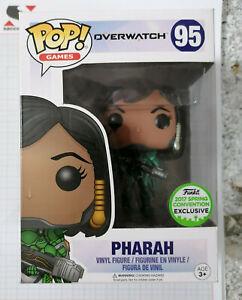 Funko POP Games Pharah Overwatch 2017 Spring Convention Exlcusive #95 Vinyl Figure