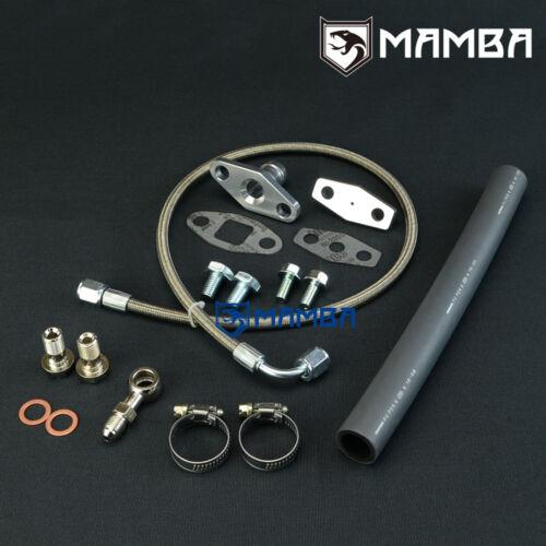 Turbo Oil Feed /& Return Line Kit For NISSAN SR20DET S13 S14 S15 TRUST T67 TE06H