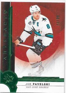 16-17-Artifacts-Stars-Emerald-Joe-Pavelski-99-124-Sharks