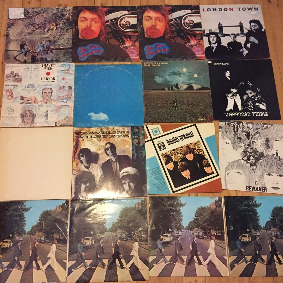 LP, Beatles - McCartney - Lennon , Rock