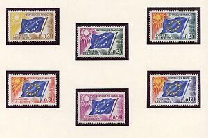 PROMO-STAMP-TIMBRE-FRANCE-NEUF-DE-SERVICE-N-27-32-CONSEIL-DE-L-039-EUROPE