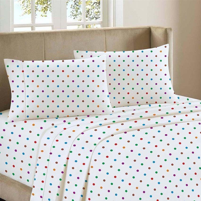 love2sleep 100 brushed cotton flannelette fitted sheet. Black Bedroom Furniture Sets. Home Design Ideas