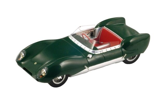 1956 LOTUS 11 CLUB GREEN 1/18 MODEL CAR BY SPARK 18S091