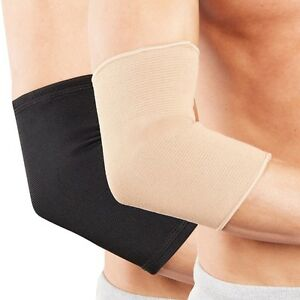 Actesso-Elbow-Support-Sleeve-for-Arm-Pain-Injury-Work-Gym-Sport-Black-Beige