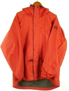 Details about JACK WOLFSKIN Gore Tex Outdoor Mountain Parka Jacket Red sz M L