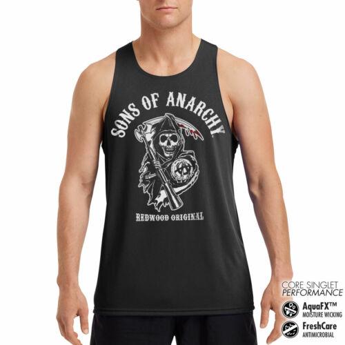 Licensed Sons Of Anarchy Redwood Original Performance Men/'s Vest S-XXL Sizes