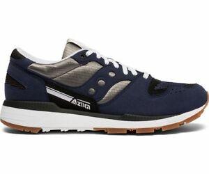 SAUCONY MEN'S AZURA Running Shoes Slate BlueGreyWhite