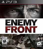 Enemy Front (Sony PlayStation 3, 2014) Video Games
