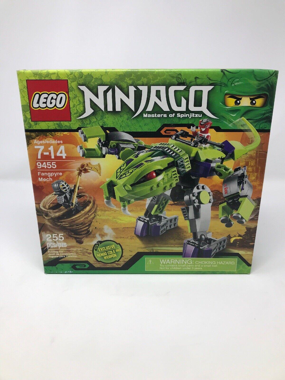 New Lego Ninjago Fangpyre Mech Set 9455