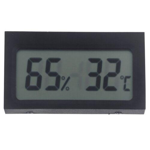 Digital LCD Innen Thermometer Hygrometer Luftfeuchtigkeit DE P7W1 S6C1 C2K7 10X