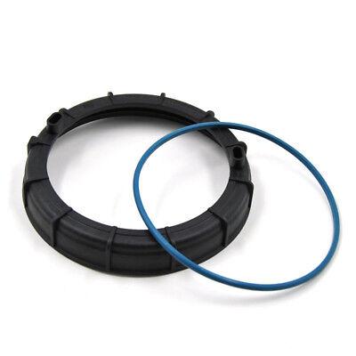 2PCS Fuel Pump Locking Seal Cover/&O Ring For Peugeot 307 206 207 Sega Citroen