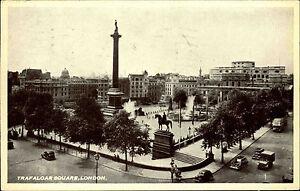 London-Grossbritannien-1957-mit-Nachgebuehr-Stempelung-Trafalgar-Square-Statue