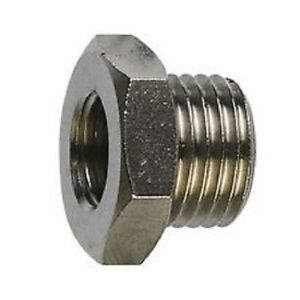 Reducing Bush BSPT Stainless Steel 316, Male to Female 150lb All Sizes