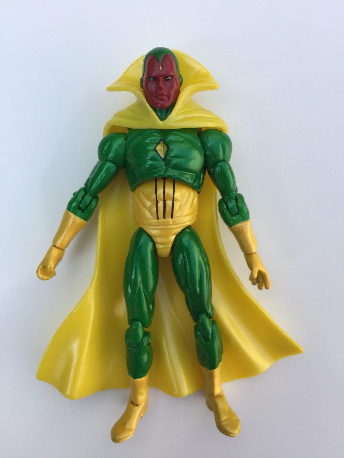 Marvel Universe Infinite Legends Figure 3.75  Vision .H READ DESCRIPTION