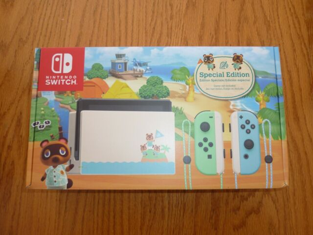 🆕️Ships Today!Nintendo Switch Animal Crossing New Horizons Edition 32GB Console