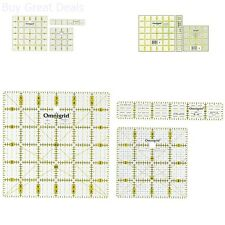 Ruler Set Marking Cutting Tools Clear Acrylic Rulers Craft Supplies Squares New