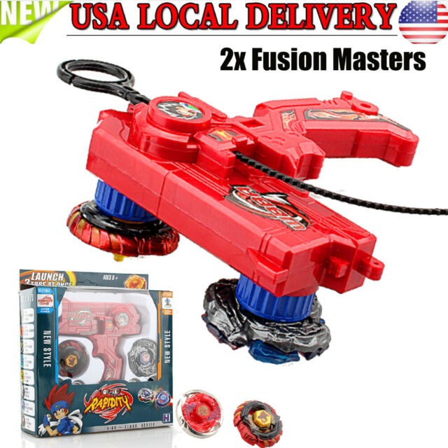 Beyblade Metal Fusion Fight Power Launcher Launcher Grip Kids Christmas Gift