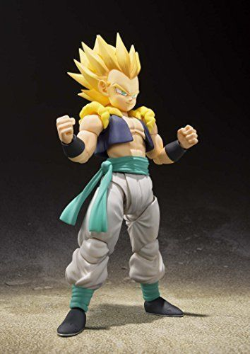 S.H.Figuarts Dragon Ball Z SUPER SAIYAN GOTENKS Action Figure BANDAI NEW