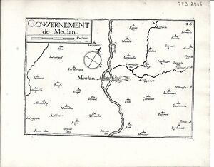 Antique-maps-Gouvernement-de-Meulan