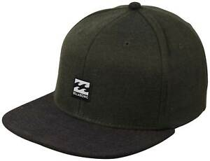 16d789ab15ca Details about Billabong Primary Snapback Hat - Military Green - New