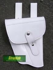 GENUINE CZECH ARMY HOLSTER in WHITE LEATHER