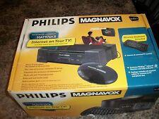 Philips Magnavox WebTV & Internet TV Receiver Terminal MAT976KB01..Works great!
