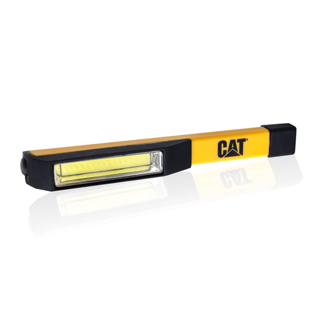 CAT Workwear CT1000 Inline COB LED Flood Beam ABS Magnetic Light Torch