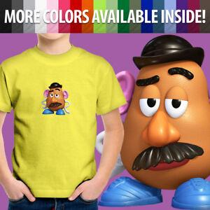 Toddler-Kids-Tee-Youth-T-Shirt-Gift-Toy-Story-2-3-Movie-Mr-Potato-Head-Disney