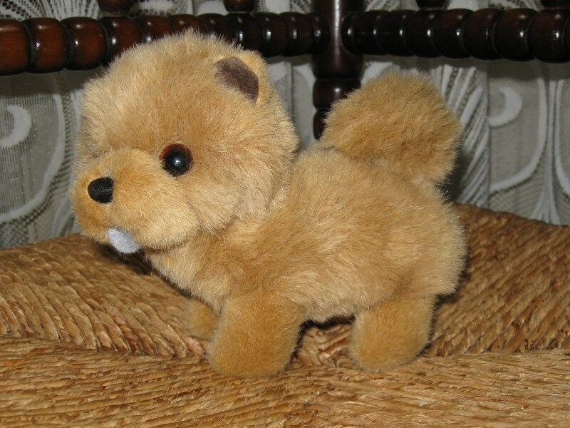 Old Vintage Hermann Germany Chow Chow Dog Plush