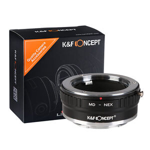 K-amp-F-Concept-Adapter-mark-II-for-Minolta-MD-MC-Lens-to-Sony-E-Mount-Camera-a7R2