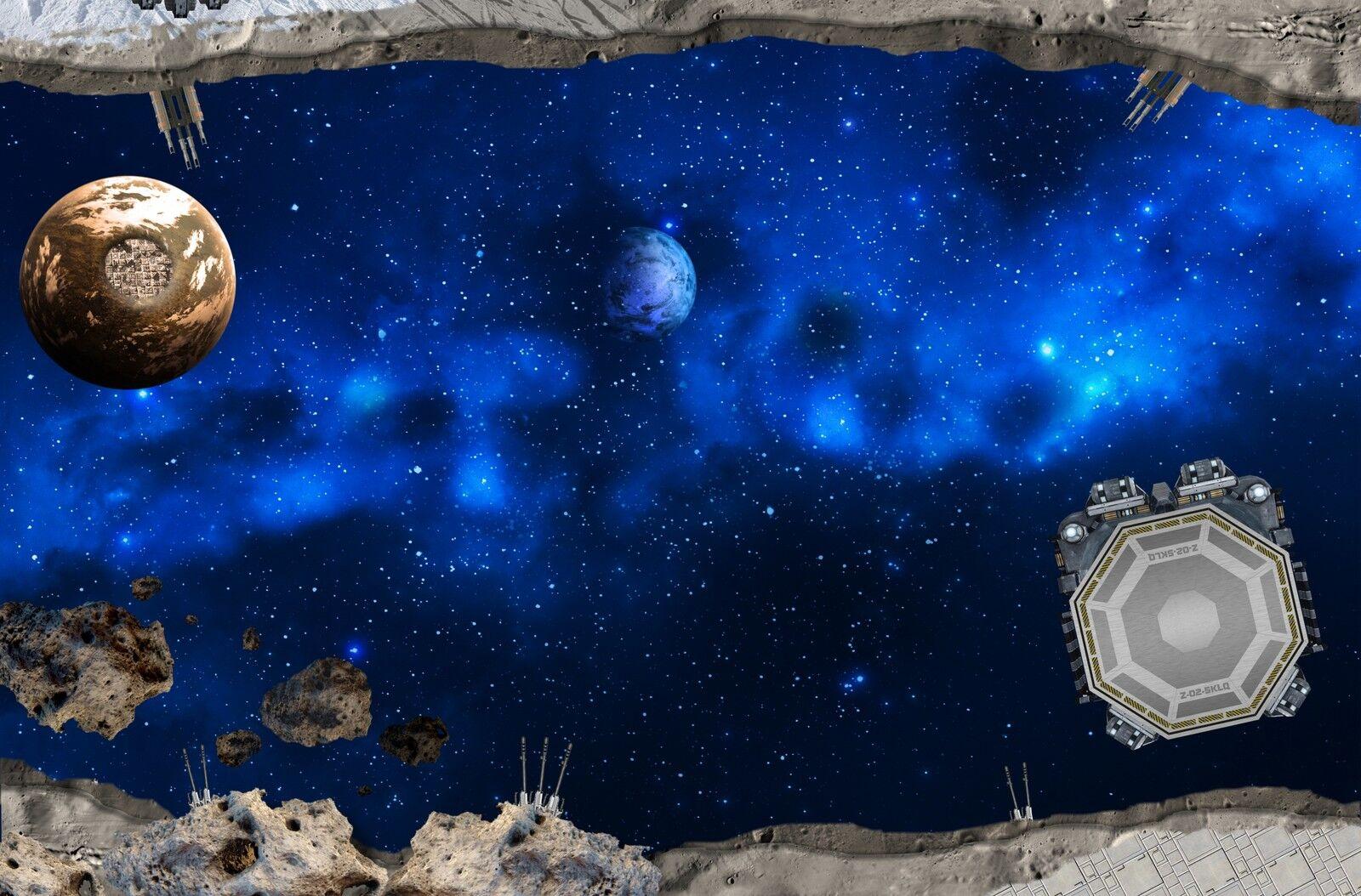 Galaxis SM12 Spielmatte / Spielteppich - ca. 150 x 100 cm