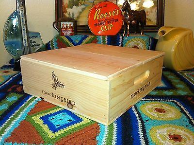 2013 Mockingbird Napa Valley Cabernet 3-bottle wood wine box