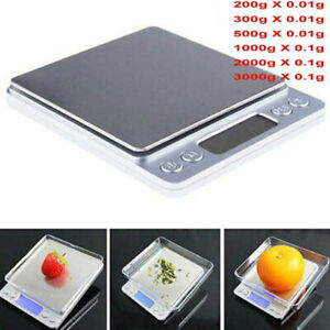 Digital-Pocket-Mini-Scale-1-2kg-0-01g-Jewelry-Gold-Silver-Coin-Kitchen-Grain-UVR