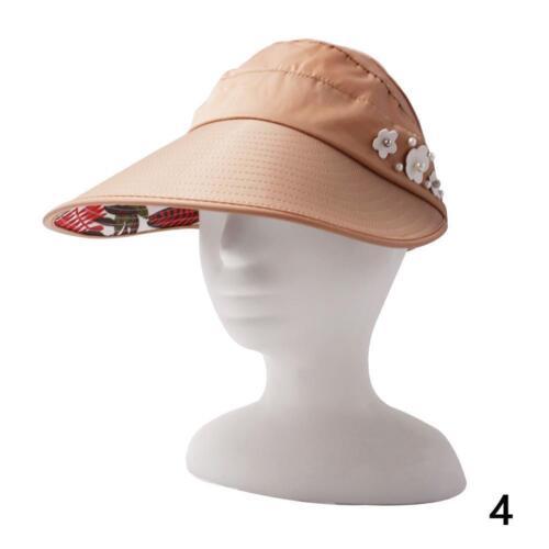 Women Visor Hat Summer Sun Beach Ladies Wide Brim Cap Free Shipping !