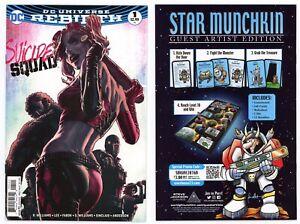Suicide-Squad-1-NM-9-6-Harley-Quinn-Bermejo-Cover-Art-2016-DC-Comics