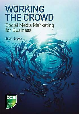 """""""AS NEW"""" Eileen Brown, Working the Crowd: Social Media Marketing for Business Bo"""