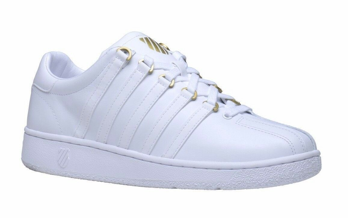 K-Swiss Classic VN 50th 03944-955 White Leather Sneakers shoes Men