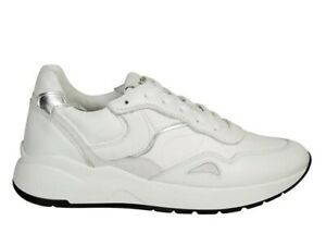 Nero-Giardini-P907731D-Bianco-Sneakers-Scarpe-Donna-Calzature-Comode