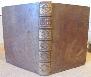 DROIT-ANCIEN-REGIME-1702-JACQUES-GAURET-STILE-UNIVERSEL-DE-TOUTES-LES-COURS-IN-4