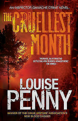 """""""AS NEW"""" Penny, Louise, The Cruellest Month, Paperback Book"""