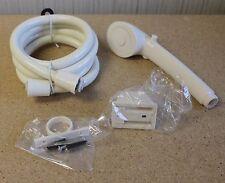 brand new off white rv motor home camper hand held shower head set kit assembly