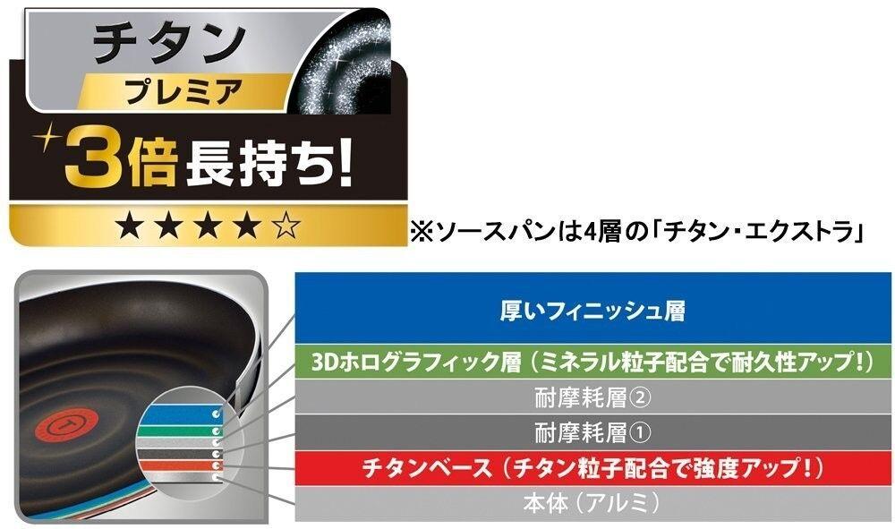 Neuf T-Fal Poêle 9 9 Poêle Set Gaz Fire SeuleHommes t L61491 Import Japonais cc9699