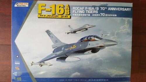 USA /& TAIWAN KINETIC 1//48 PLASTIC KIT F-16 A//B BLOCK 20