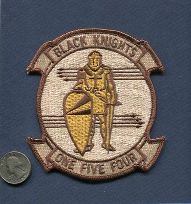 VF-154 BLACK KNIGHTS Grumman F-14 TOMCAT US Navy Fighter Squadron Desert Patch